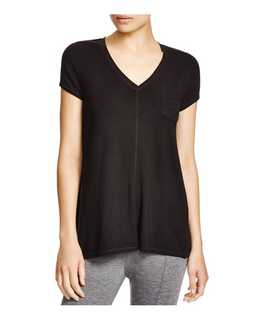 DKNY | Black Urban Essential Colorblock Tee | Lyst