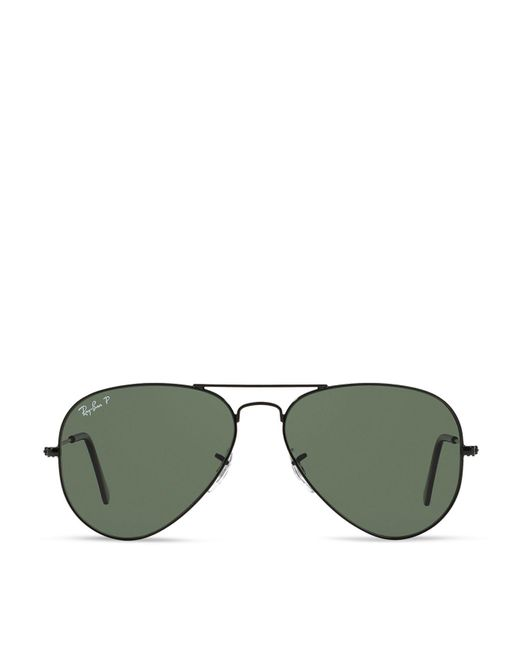 Ray-Ban | Black Ray–ban Original Aviator Sunglasses, 58mm for Men | Lyst