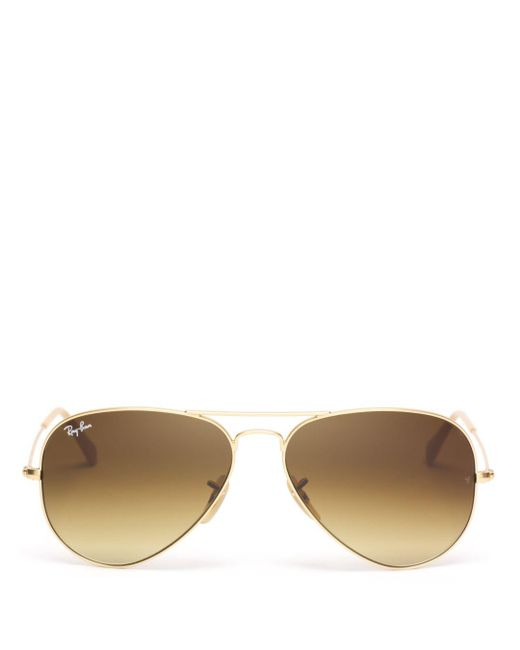 Ray-Ban - Brown 58mm - Lyst