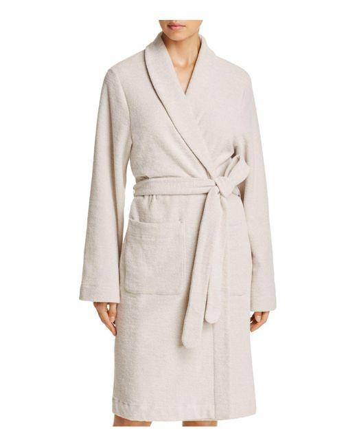 Hanro - Multicolor Plush Wrap Robe - Lyst