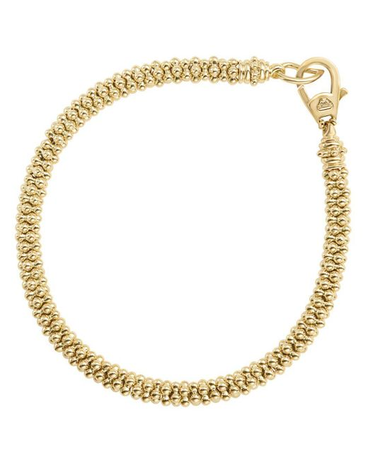 Lagos - Metallic Caviar Gold Collection 18k Gold Bracelet - Lyst