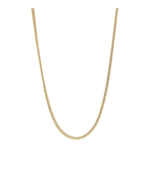 John Hardy | Metallic Classic Chain 18k Yellow Gold Mini Necklace, 18"