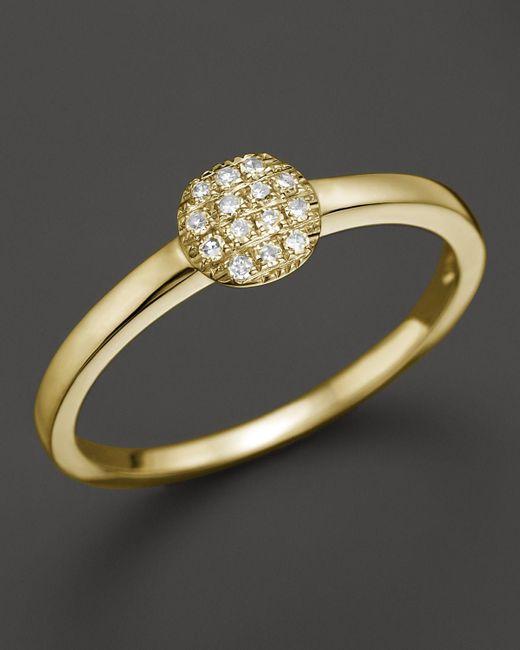 Dana Rebecca | 14k Yellow Gold And Diamond Lauren Joy Mini Ring | Lyst
