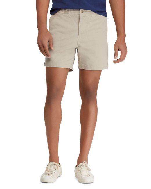 364850c3c Polo Ralph Lauren - Natural Classic Fit Drawstring Shorts for Men - Lyst ...