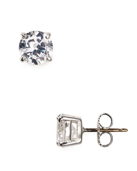 Carolee | Metallic Small Cubic Zirconia Stud Earrings | Lyst