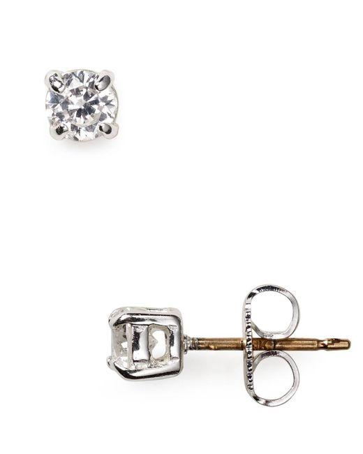 Carolee | Metallic Mini Cubic Zirconia Stud Earrings | Lyst