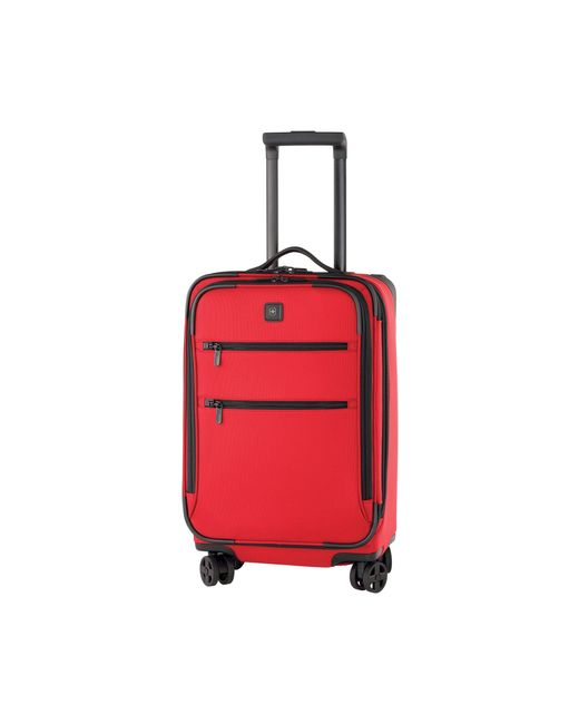 "Victorinox | Red Victorinox Lexicon 22"" Expandable Spinner for Men 