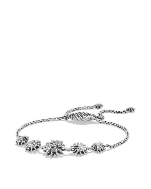 David Yurman | Metallic Starburst Five-station Bracelet With Diamonds | Lyst