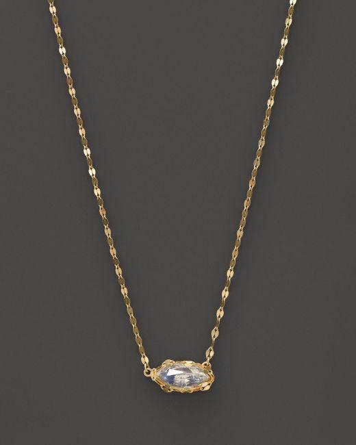 "Lana Jewelry | Metallic 14k Yellow Gold Spellbound Charm Necklace, 18"" | Lyst"