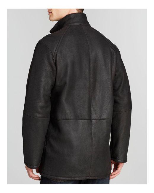 Maximilian Maximilian Men's Shearling Coat in Gray for Men   Lyst