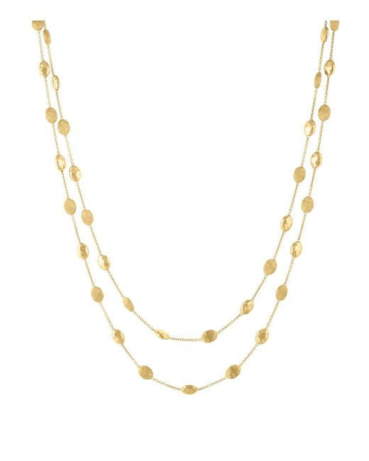 "Marco Bicego | Metallic 18k Yellow Gold Siviglia Necklace, 36"" - Bloomingdale's Exclusive 