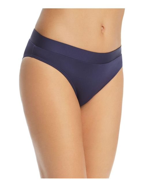 MEI L'ANGE - Blue Valentina Solid Bikini Bottom - Lyst
