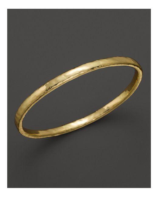 Ippolita - Yellow 18k Gold Glamazon Bangle - Lyst