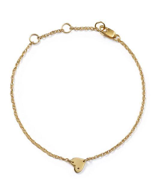 Jennifer Zeuner   Metallic Mia Mini Heart Bracelet   Lyst