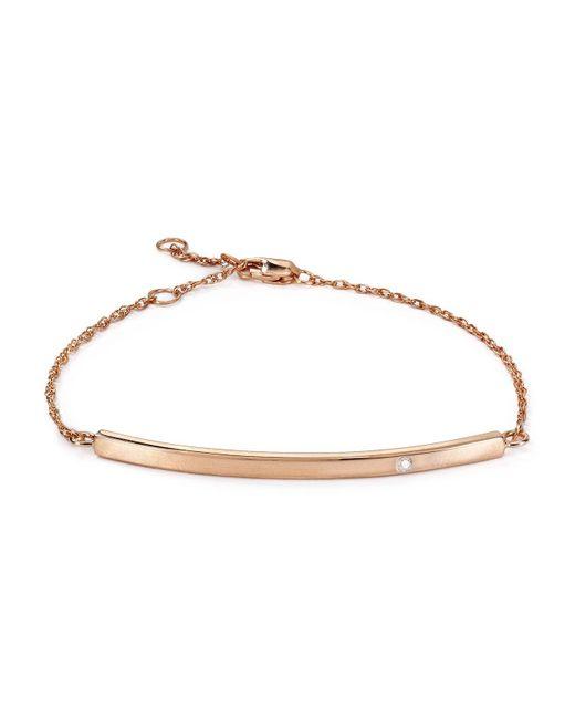 Jennifer Zeuner | Pink Chelsea Horizontal Bar Bracelet | Lyst