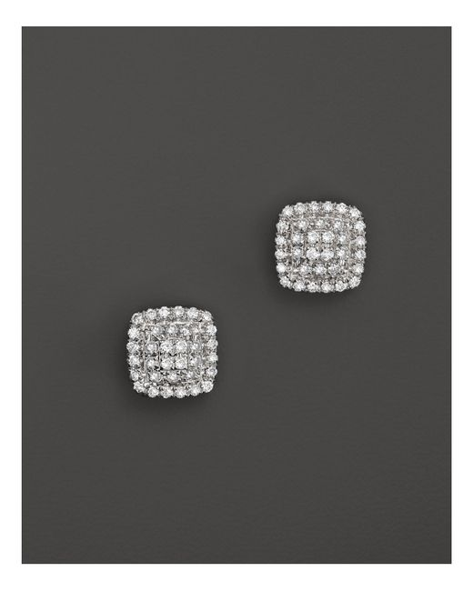 Dana Rebecca | Emily Sarah Earrings In White Gold With Diamonds | Lyst