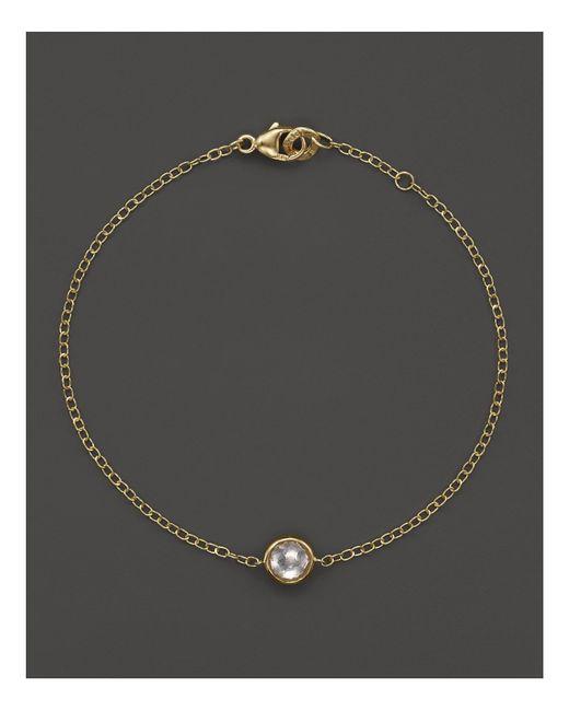 Ippolita | Metallic 18k Gold Mini-lollipop Bracelet In Clear Quartz | Lyst