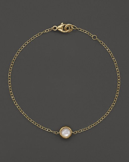 Ippolita | Metallic 18k Gold Mini-lollipop Bracelet In Mother-of-pearl | Lyst