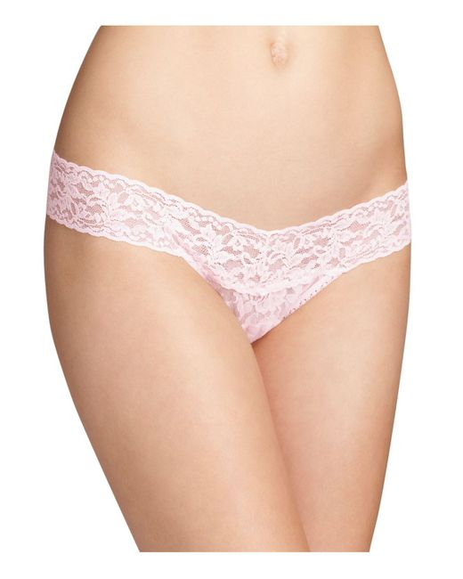 Hanky Panky | Pink Low-rise Thong | Lyst