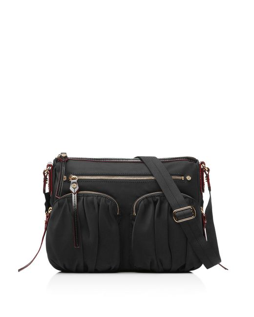 MZ Wallace | Black Paige Crossbody | Lyst