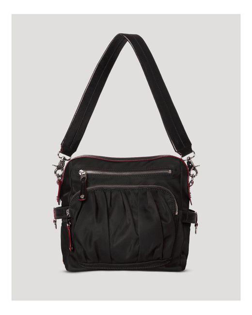 MZ Wallace   Black Lizzy Shoulder Bag   Lyst