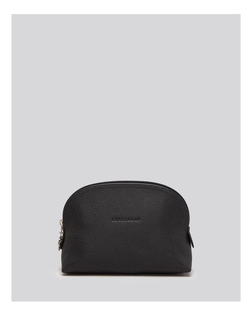 Longchamp | Black Le Foulonne Dome Cosmetic Case | Lyst