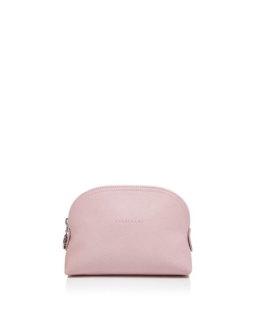 Longchamp | Pink Le Foulonne Dome Cosmetic Case | Lyst
