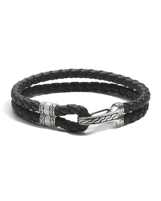 John Hardy | Metallic Men's Sterling Silver Classic Chain Hook Station Bracelet | Lyst