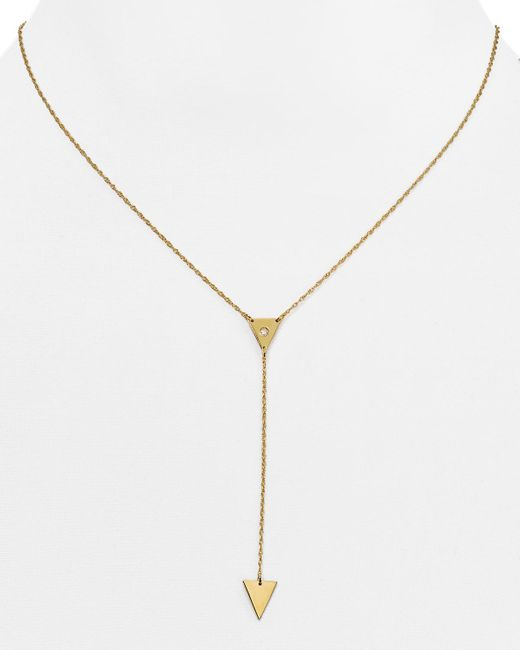 Jennifer Zeuner | Yellow Kamila Y Necklace, 16"