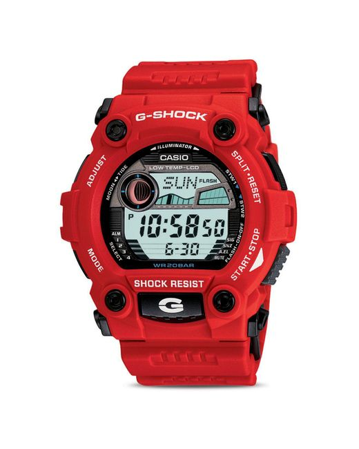 G-Shock | Red 52.4mm | Lyst