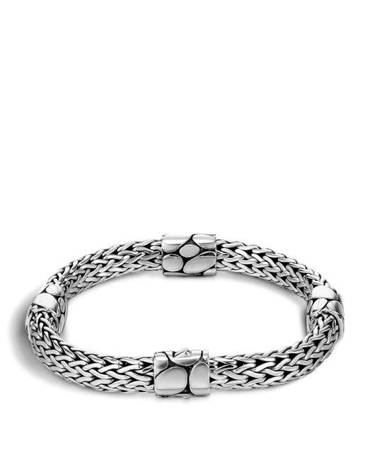 John Hardy   Metallic Women's Sterling Silver Kali Four Station Bracelet   Lyst