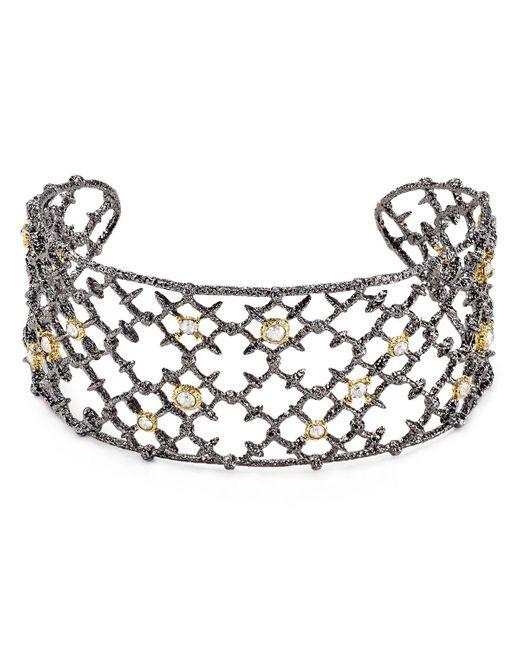 Alexis Bittar | Metallic Elements Riveted Lace Cuff | Lyst