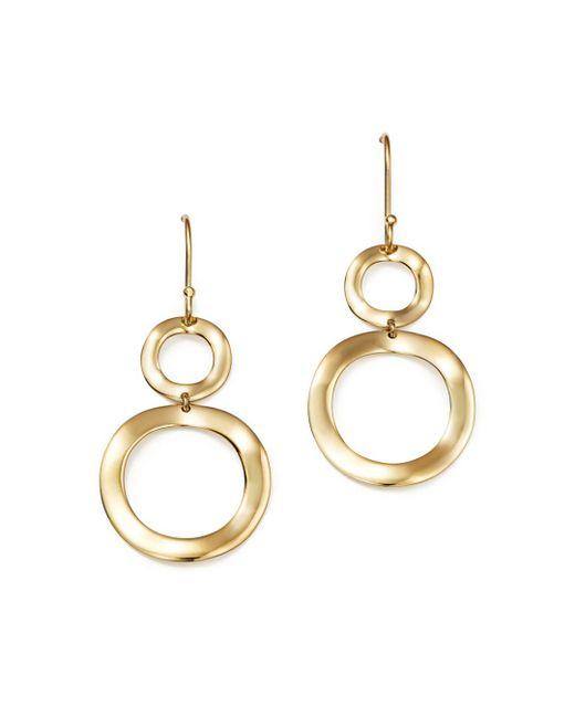 Ippolita - Metallic 18k Gold Snowman Earrings - Lyst
