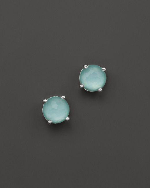 Ippolita | Blue Rock Candy Mini Stud Earrings In Aqua | Lyst