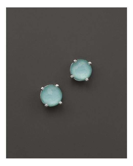Ippolita | Blue Rock Candy Mini Stud Earrings In Aqua | Lyst