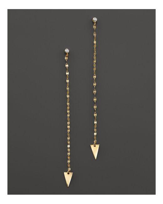 Lana Jewelry | Metallic 14k Yellow Gold Vista Duster Earrings | Lyst