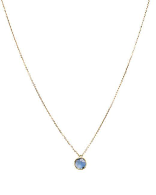 "Marco Bicego | Metallic 18k Gold & Topaz Delicati Pendant Necklace, 16.5"" | Lyst"