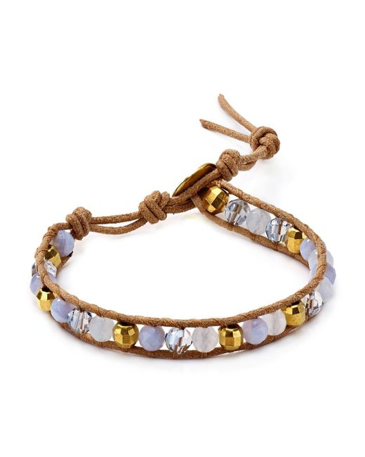 Chan Luu | Blue Single Strand Bracelet | Lyst