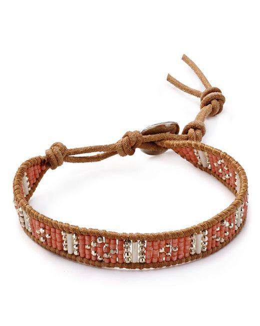 Chan Luu | Brown Beaded Bracelet | Lyst
