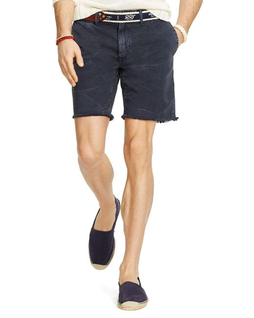 Polo Ralph Lauren | Blue Chino Maritime Shorts - Classic Fit for Men | Lyst