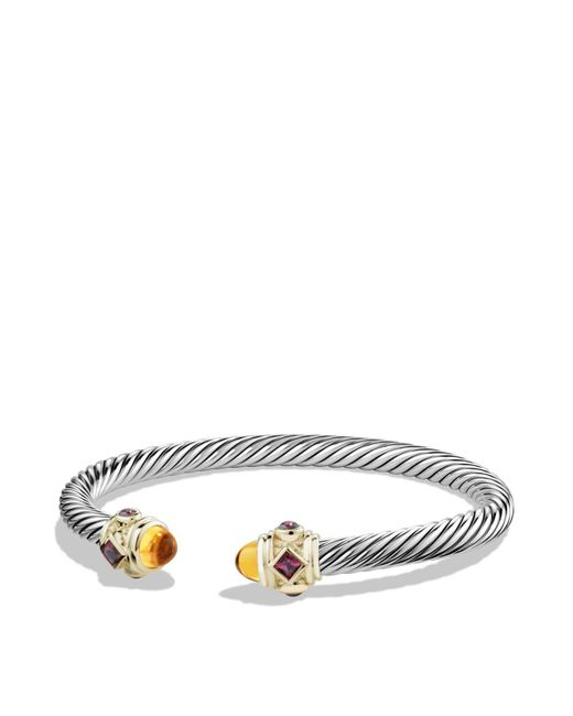 David Yurman | Metallic Rhodalite Garnet And 14k Gold | Lyst