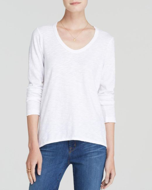 Wilt | White Shrunken Boyfriend Top | Lyst