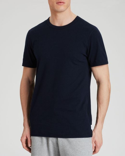 Steven Alan | Black Set In Tee for Men | Lyst