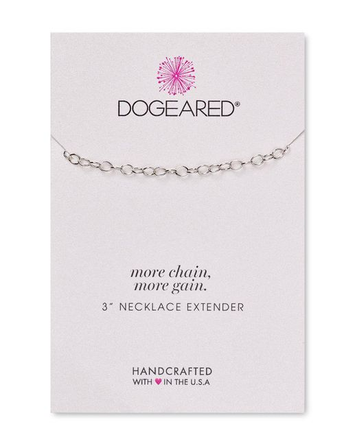 Dogeared | Metallic Necklace Extender | Lyst