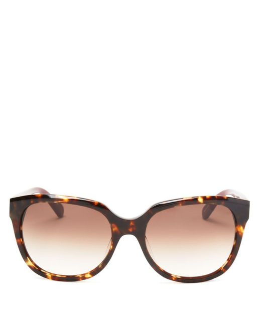 kate spade new york | Brown Bayleigh Square Sunglasses, 55mm - 100% Exclusive | Lyst