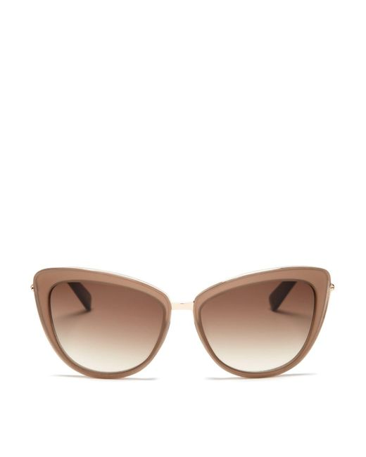 kate spade new york | Natural Kandi Combo Cat Eye Sunglasses, 56mm - Bloomingdale's Exclusive | Lyst