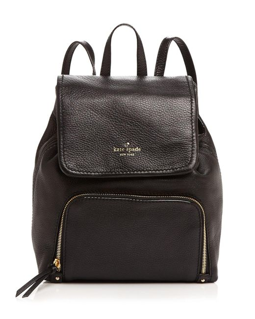 Kate Spade | Black Cobble Hill Charley Backpack | Lyst