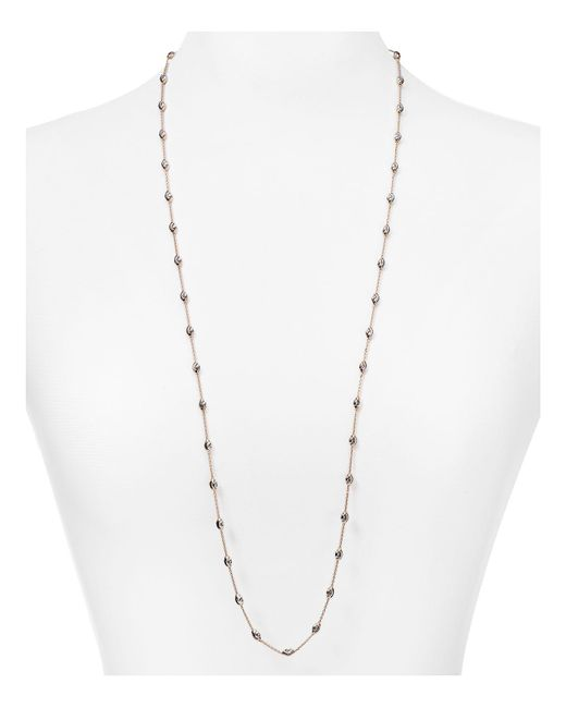 Officina Bernardi | Pink Beaded Necklace, 36"