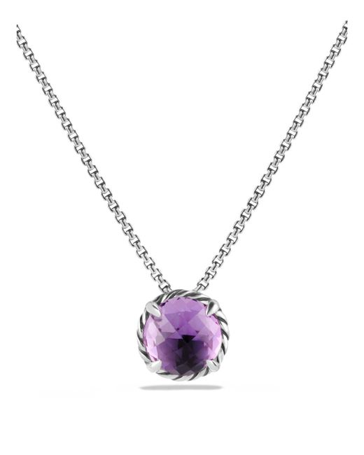 David Yurman | Purple Châtelaine Pendant Necklace With Amethyst | Lyst