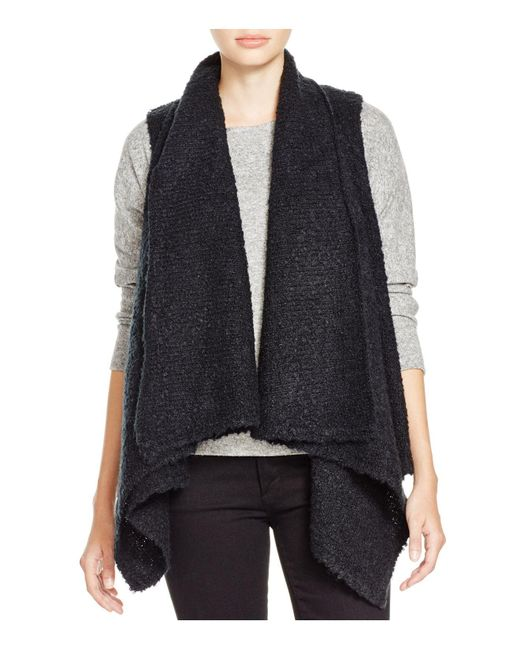 Soft Joie | Black Orrin Boucle Sweater Vest | Lyst